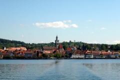 Aufbruch am Bodensee zur längsten der drei Pilgerreisen...