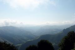 Die Pyrenäen! Frankreich, das größte Land liegt hinter mir.