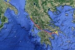 400 Kilometer durch Griechenland.