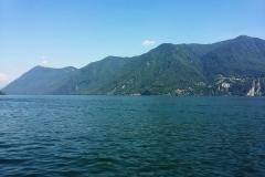 Aufbruch am Luganer See zur härtesten Pilgerreise.