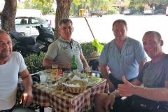 Griechischer Wein, Ouzo & Gastfreundschaft.