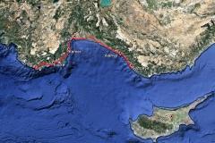 400 Kilometer durch die Türkei