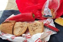 Typisches Lunchpaket.