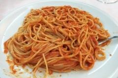 Pasta ohne Ende in Italien.