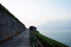 Aufbruch am Genfer See zur schönsten Pilgerreise.