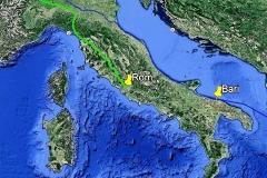 Meine zweite Pilgerreise, 1.100 Kilometer von Lausanne bis in die ewige Stadt.